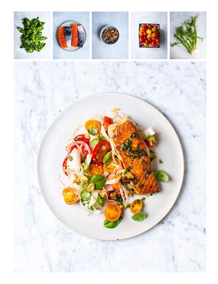 Recipe photo from Donal's Meals in Minutes, Hodder & Stoughton