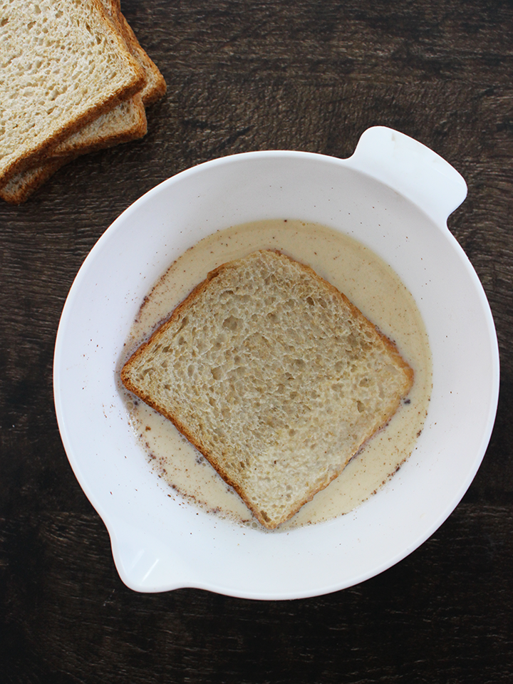 French toast with cinnamon & vanilla